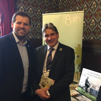 Ben Howlett MP & Les: Visit Bath