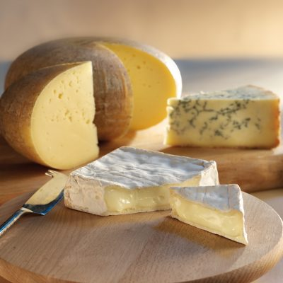 The 3 local cheeses