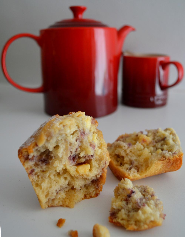 Broken muffin