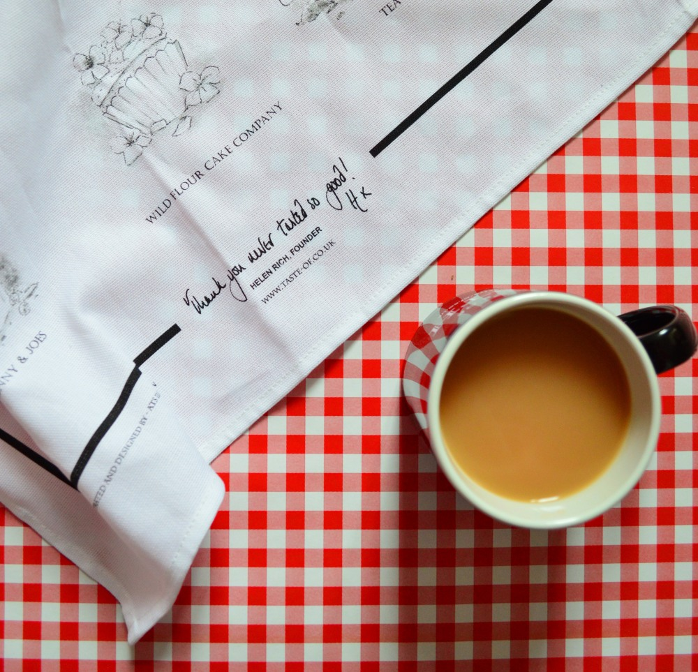 Teatowel with mug
