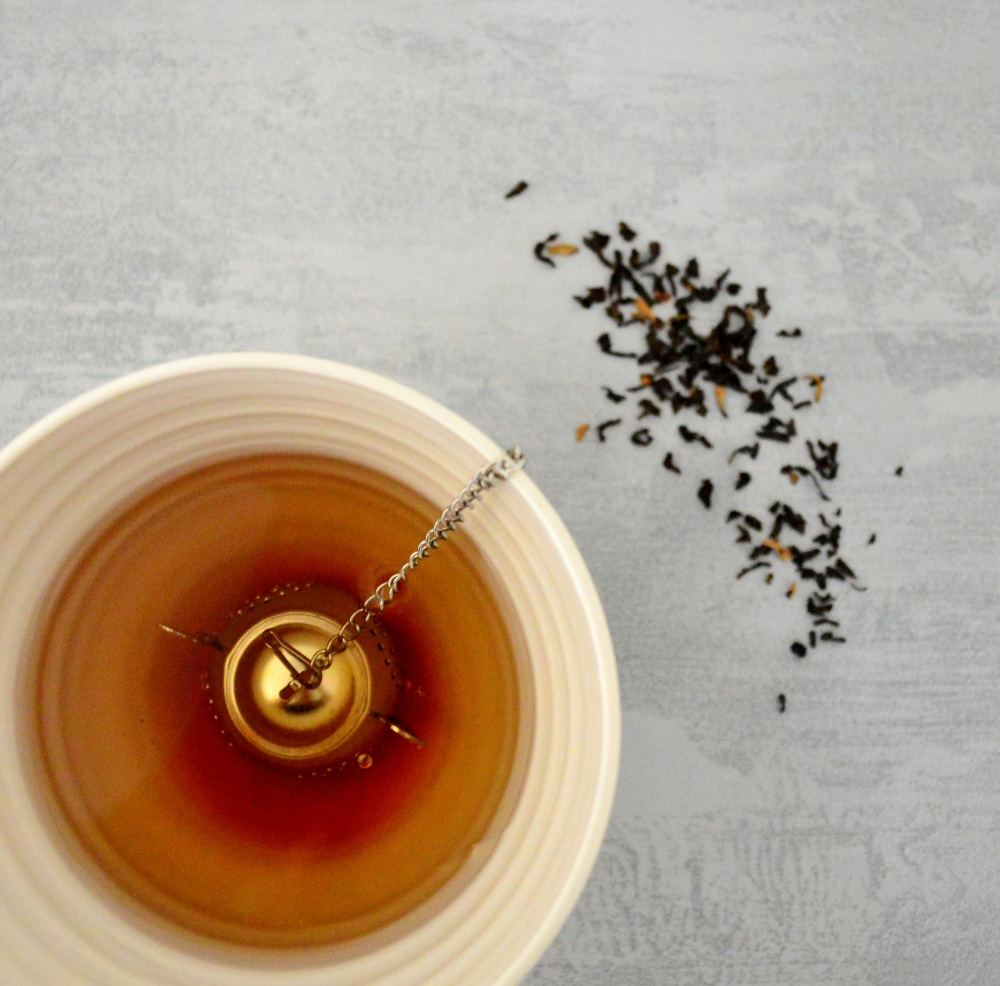 Infuser in teabowl